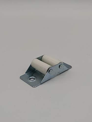 Guía cintas de persiana metálico zincado Pack de 10 Unidades (Para cinta de 22)