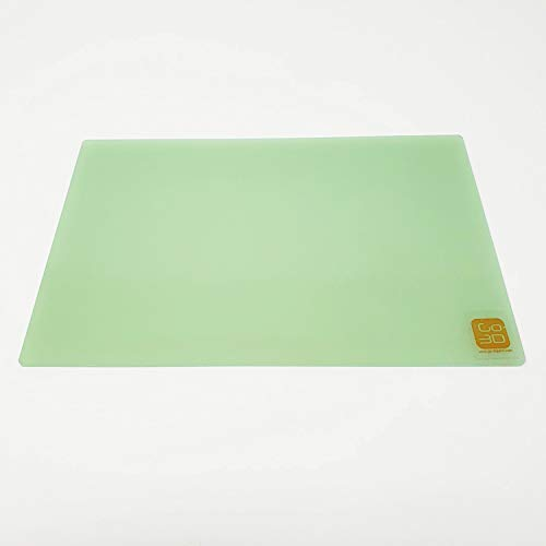 GO-3D PRINT 150mm x 230mm Polypropyleen Glasvezel Plate Bed voor Flashforge Creator & Makerbot Replicator 3D Printer