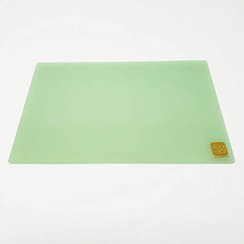 GO-3D PRINT 150mm x 230mm Polypropylene Glass Fiber Plate Bed for Flashforge Creator & Makerbot Replicator 3D Printer