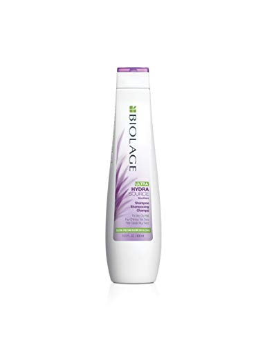 BIOLAGE Ultra Hydrasource Shampoo | Extreme Moisture Prevent Breakage | Silicone & Paraben-Free | For Very Dry Hair | 13.5 Fl. Oz.