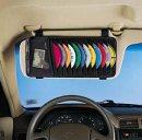 Case Logic CD-Visor für 12 CDs (CD-Tasche für die Sonnenblende) schwarz