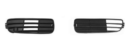 Lüftungsgitter, Stoßstange schwarz, links