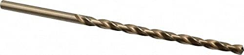 5 Direct stock discount 16'' Time sale 135° 2-Flute Cobalt Extra Bit Bright Fini Drill Length