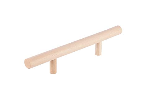 eliga Poignée de porte en bois clair