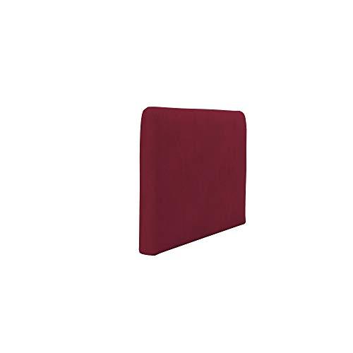 Soferia Funda de Repuesto para IKEA SÖDERHAMN apoyabrazo, Tela Majestic Velvet Wine Red, Roja