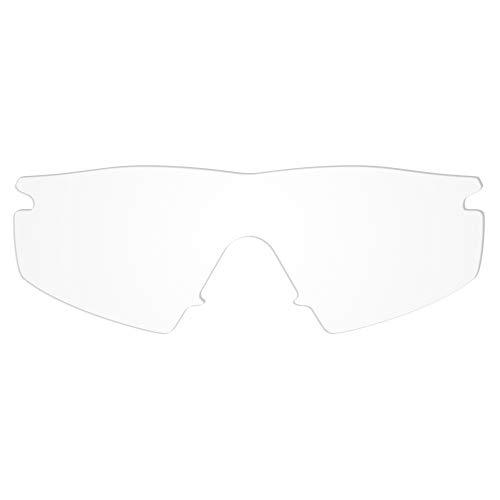 Revant Verres de Rechange pour Oakley M Frame Strike, Non Polarisés, Cristallin