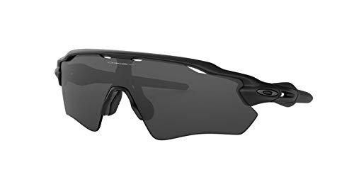 Oakley Mens Sunglasses Black Matte/Grey - Non-Polarized - 38mm