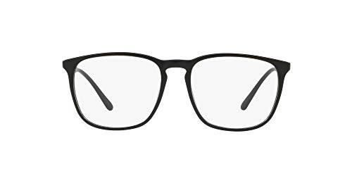 Ray-Ban Men's 0PH2194 Optical Frames, Black (Vintage Black), 52