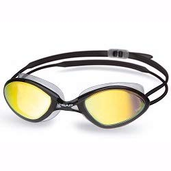 HEAD Erwachsene Schwimmbrille Tiger Race Mirrored Liquidskin, Clear-Black-Smoke, One Size