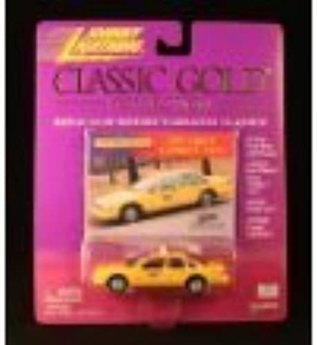 1997 CHEVY CAPRICE TAXI  jaune  Johnny lumièrening 2000 CLASSIC or COLLECTION 1 64 Scale Die-Cast Vehicle by Johnny lumièrening