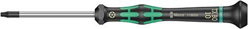 Wera 2067 Elektroniker-Torx BO-Schraubendreher, TX 10 x 60 mm, 05118050001