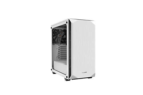 be quiet! Pure Base 500 PC-Gehäuse aus Hartglas, Weiß