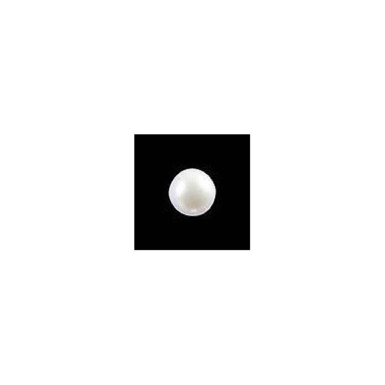 情緒的ナイロンダンプピアドラ 大粒パール ラウンド(4mm)24P