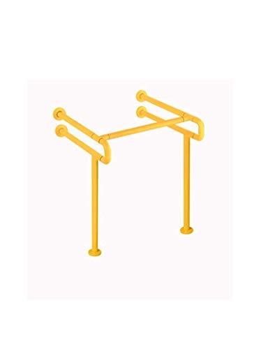 Barrierefreier Sockelbassin Old Man Waschtisch Waschtisch Griff Weiß Gelb (Color : BEIGE)