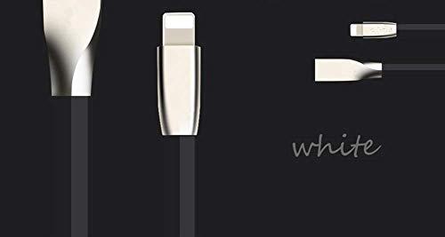 LQZHP - Cable Lightning para iPhone X/8/8 Plus/7/7 Plus/6S/6S Plus/6/6 Plus, iPad Air 2 y más/XS Max, color blanco