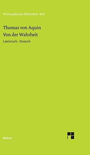 Philosophische Bibliothek Band 384: Von der Wahrheit - De veritate
