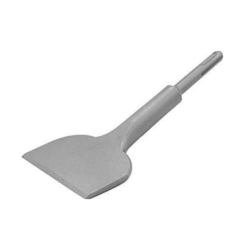 Jerilla SDS Plus Flachmeißel, 180 mm x 75 mm Fliesenmeißel Verbreiterte Gebogene Winkel Meißel Elektrischer Bohrhammer für Fliesen/Beton/Wand/Ziegel