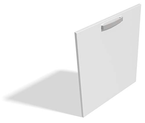 Anta per lavastoviglie - Sportello Modello Quadra Colore (Bianco Opaco)