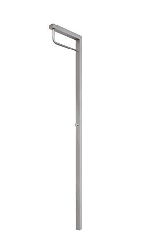 SOMPEX wandkapstok met LED-verlichting, aluminium