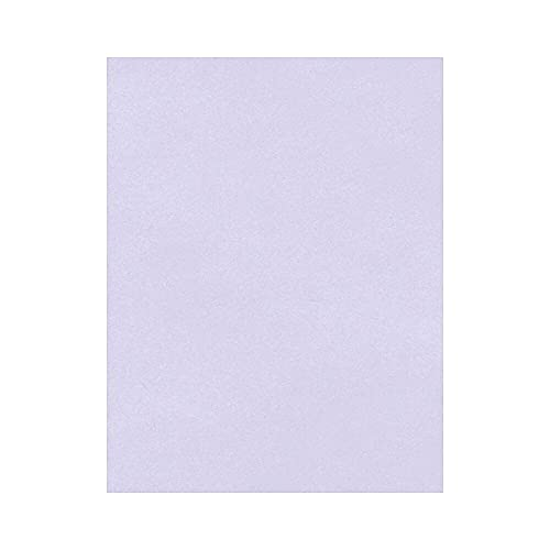 """LUXPaper 8.5"""" x 11"""" Cardstock for Crafts and Cards in 65 lb Orchid, Scrapbook Supplies, 50 Pack (Purple)"""