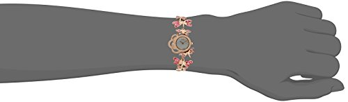 Titan Raga Swarovski Crystal, Mother of Pearl Dial, Gold/Silver/Brass Metal, Jewellery Design, Bracelet Style, Designer, Quartz Glass, Water Resistant Wrist Watch
