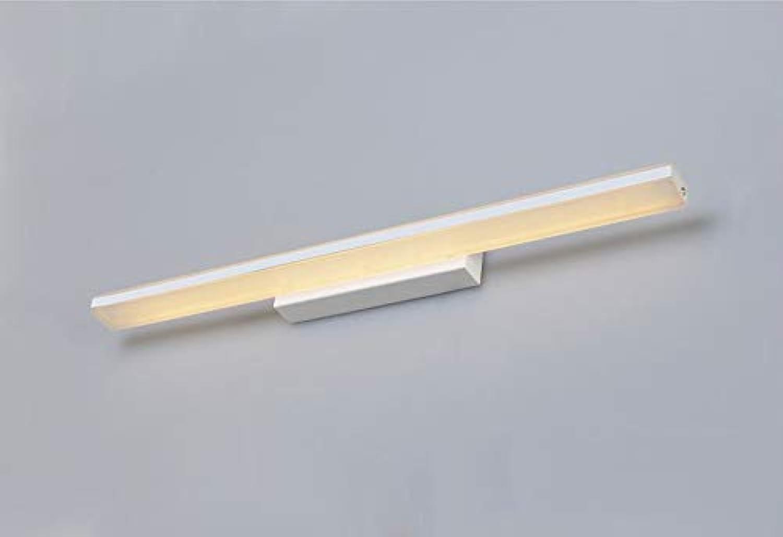 XHCP Einfaches Badezimmer Badezimmer mit Langen Acryl Anti-Fog-Spiegel Frontlicht Spiegelleuchte (Farbe  warmes Licht-45  18  5 cm)