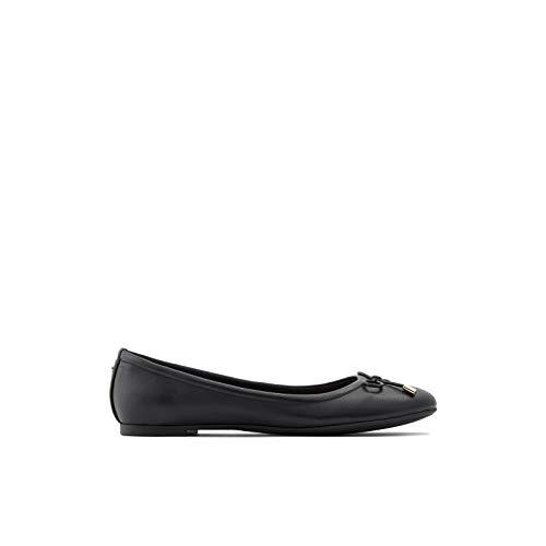 ALDO Women's Unelamma Ballet Flat Shoe, Black, 11