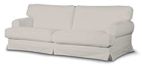 Dekoria Ekeskog Sofabezug Nicht ausklappbar Husse passend für IKEA Modell Ekesgog hellgrau