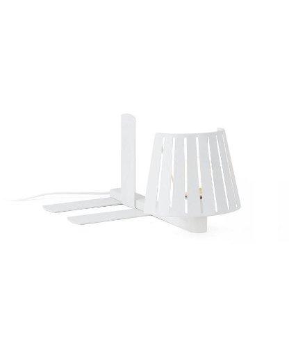 Lámpara aplique estantería para libros en metal color blanco - MIX
