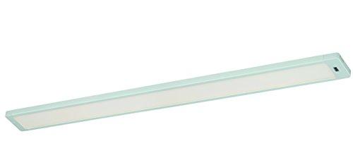 Instalux Neptune LED Unterbauleuchte, Aluminium^Glas, 10 W, Weiß, 60 x 6 x 1.2 cm