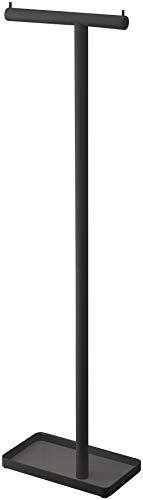 山崎実業(Yamazaki) ハンギングかさたて ブラック 約W26.5XD15XH97cm スマート アンブレラスタンド 出し入れスムーズ 乾きやすい 4897
