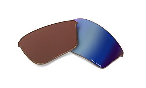 Oakley Half Jacket 2.0 XL Replacement Lenses Sport Sunglass, Prizm Deep Water Iridium Polarized, 62 mm