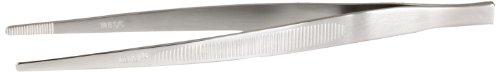 Mercer Culinary RVS rechte precisie tang, zilver 18-8 roestvrij staal precisie pincet, 15,5 cm, recht zilver