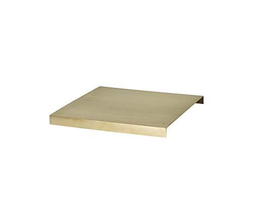 Ferm Living - Holztablett für Plant Box - Messing