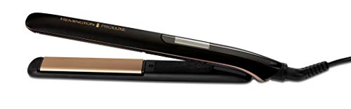 Remington S9100B Proluxe Ceramic Hair Straighteners with Pro+ Low Temperature Protective Setting and Luxury Storage Pouch, Midnight Edition (Amazon Exclusive)