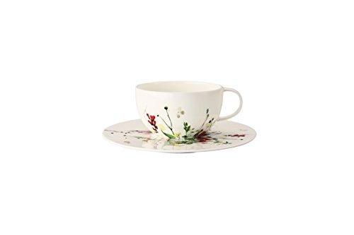 Rosenthal Brillance Tee-/CAPP.Tasse 2tlg Fleurs Sauvages