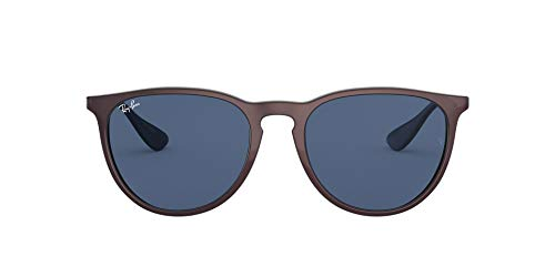 Ray-Ban Erika Gafas, Top Metallic Cipria On Black, 54 mm Unisex Adulto