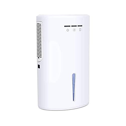 WGLLSD WGLL Deumidificatore Elettrico per la casa con Serbatoio dell'Acqua 2000ml (68 oz), Arresto Automatico Ultra Silenzioso, Compatto e Portatile, rimuove l'umidità