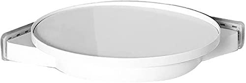 TUHFG Estantes de Ducha Espacio Ahorro de baño Cocina champú champú Ducha Organizador 360 Grados rotación Drenaje triángulo Almacenamiento estantería de Inodoro Estante de la Esquina