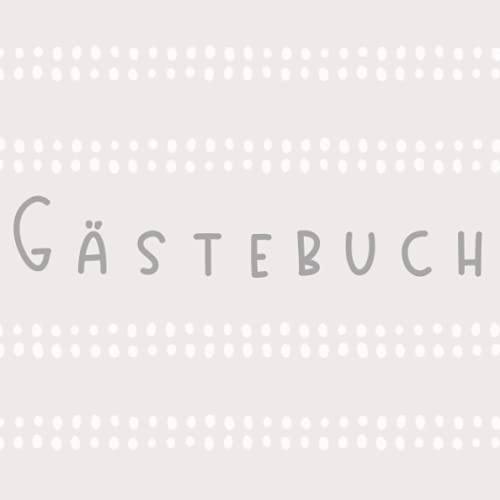 Gästebuch grau modern Ferienwohnung Ferienhaus Pension Airbnb Gästehaus mit Fragen zum ausfüllen...