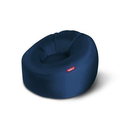 Fatboy® Lamzac O Luftsofa Dunkelblau | Großes, aufblasbares Sofa/Liege/Bett in Blau, Sitzsack mit Luft gefüllt | Outdoor geeignet | 110 x 103 x 62 cm