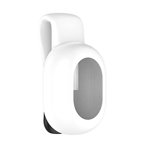 Funda de silicona Hahepo compatible con Garmin Running Dynamics Pod Carcasa protectora anti-pérdida impermeable clip de acero