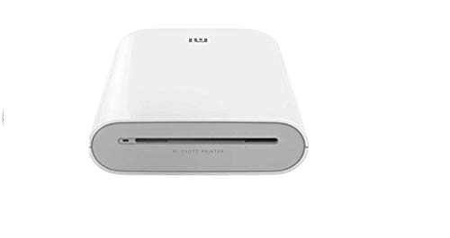 Xiaomi TEJ4018GL - Impresora fotográfica portátil 300 PPP Pocket Mini AR con DIY Share 500 mAh, Blanco