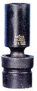 Category K Tool International 1//2 Drive Swivel 6 Point Impact Socket 15 mm Sockets KTI38515