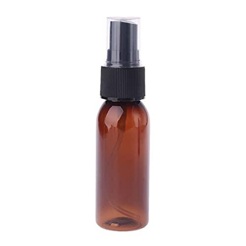 unknows Botella de Spray vacía de plástico de Viaje de 30 ml atomizador de Perfume Botella Recargable de Aerosol vacía para Maquillaje y Cuidado de la Piel