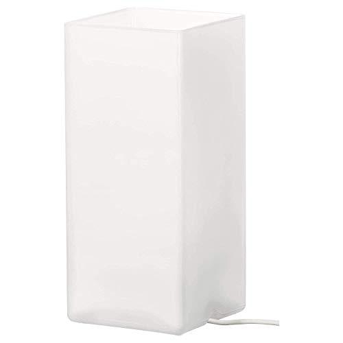 IKEA Grönö - Lámpara de mesa de cristal esmerilado (2 unidades), color blanco