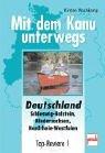 Deutschland: Schleswig-Holstein, Niedersachsen, Nordrhein-Westfalen: Top-Reviere 1 (Mit dem Kanu unterwegs)