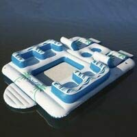 Member's Mark 6-Person Tropical Tahiti Inflatable Floating Island
