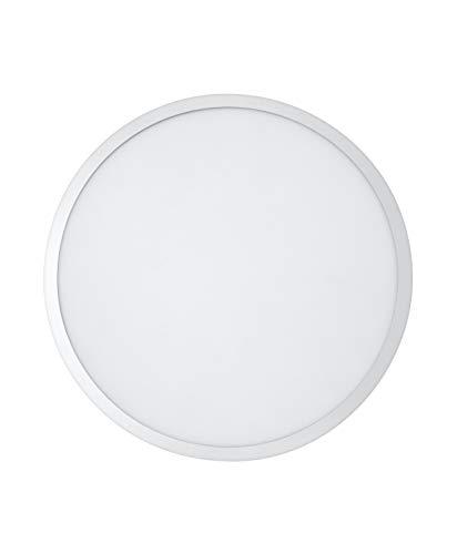 LEDVANCE LED Panel-Leuchte, Leuchte für Innenanwendungen, Warmweiß, Länge: 60x60 cm, Planon Round