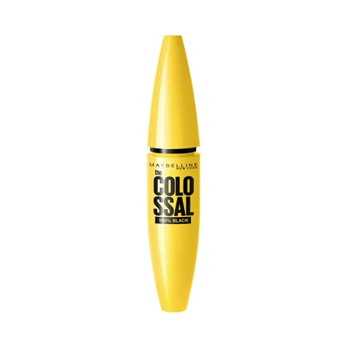 2 x Maybelline The Colossal Mascara 100% Black 10.7ml - 02...
